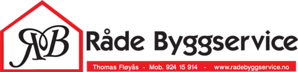 Logo, Råde Byggservice AS